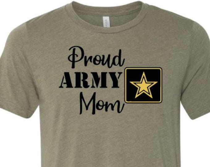 Proud Army Mom - T-Shirt