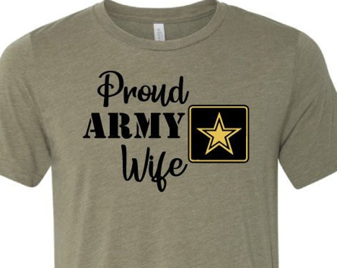 Proud Army Wife - T-Shirt