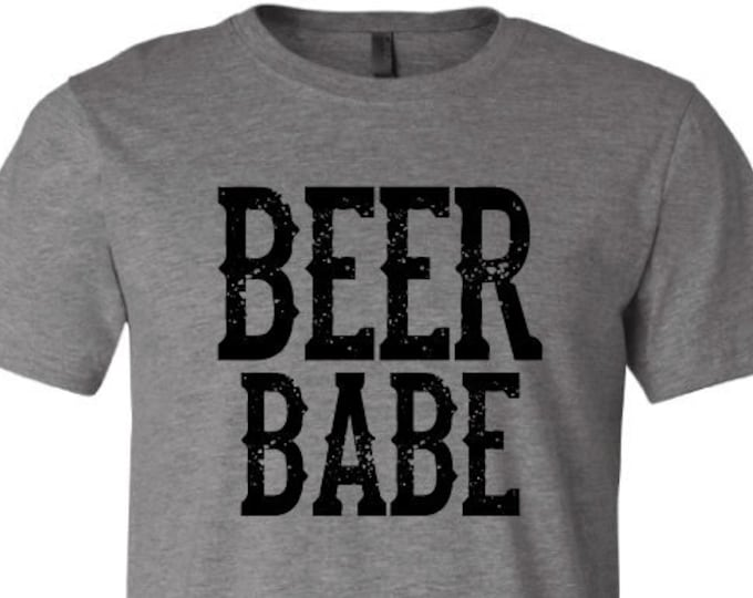 Beer Babe - T-Shirt