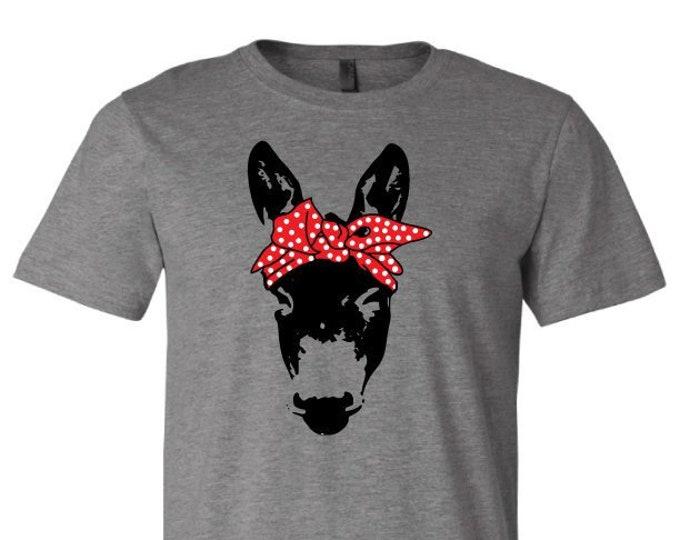 Bandanna Donkey - T-Shirt