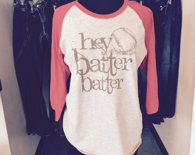 Hey Batter Batter - Baseball T-Shirt