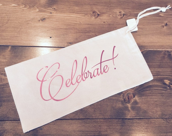 Wine Bag - Celebrate
