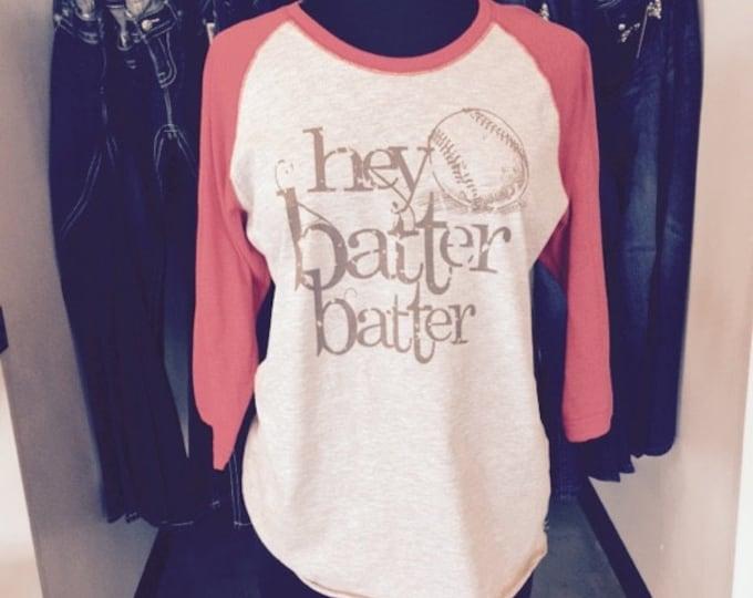 Hey Batter Batter - Baseball T-Shirt