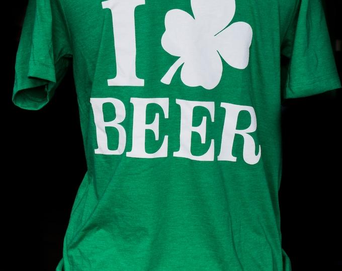 St. Patty's Day - I Shamrock Beer Tee - Canvas Unisex Short Sleeve Tee