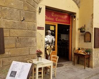 Florence tavern, Dante, Florence, Italy, Florence print, Florence photo, Italy print, Florence photograph, Italy photograph, Florence art