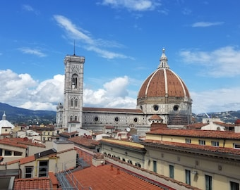 Duomo and Campanile, Florence, Italy, Florence print, Florence photo, Italy print, Florence photograph, Italy photograph, Florence art