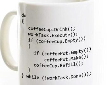 C++ Program Coffee Mug - Computer Science Programmer Software Developer Gift - Java Object Oriented Programming