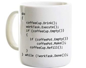 C++ Program Coffee Mug - Coding Computer Science Programmer Software Developer Gift - Java Programming