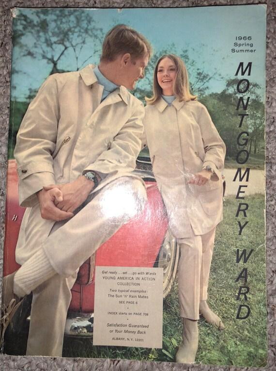 38a8ff58bce6 Montgomery Ward catalogue catalog catalogue Spring Summer 1966