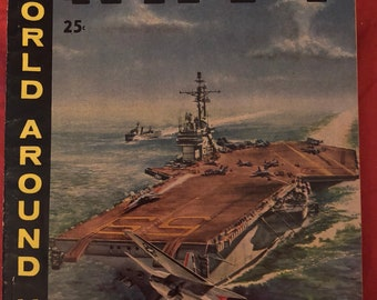 1959 Illustrated Story of the Navy World Around Us Comics Classics Illustrated