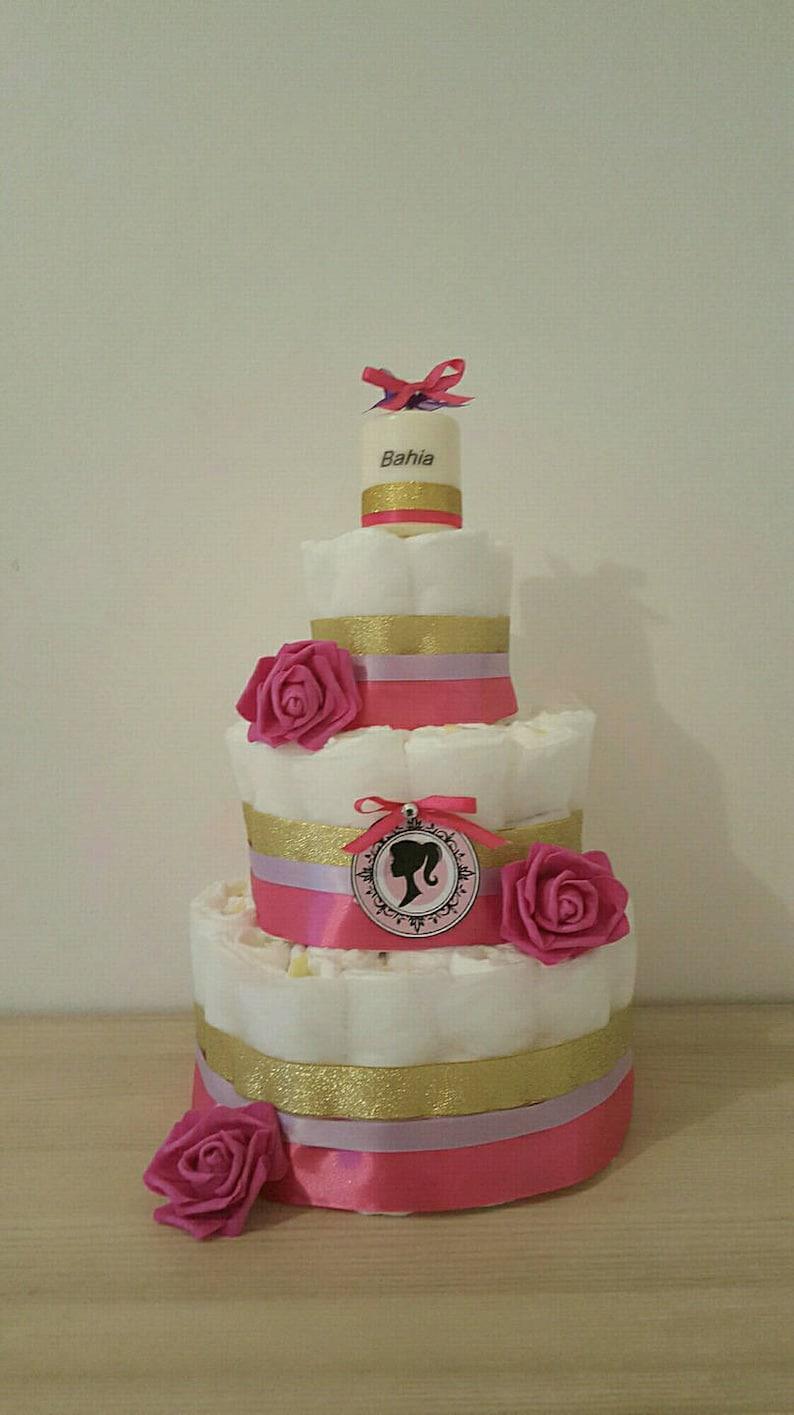 Great for girl diaper cake image 0