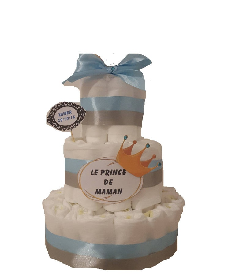 Great for boy diaper cake image 0