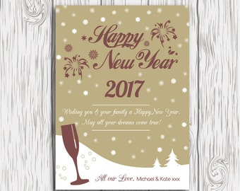 happy new year card template new years card template photoshop template printable new year cards new year digital card photographygold