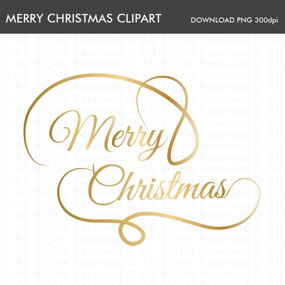Merry Christmas Calligraphy.Merry Christmas Gold Handwriting Clipart Merry Christmas Script Merry Christmas Calligraphy Christmas Text Gold Typography Gold Writing