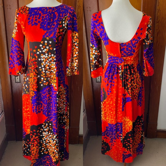 Liberty House Maxi Dress w/ Bell Sleeves