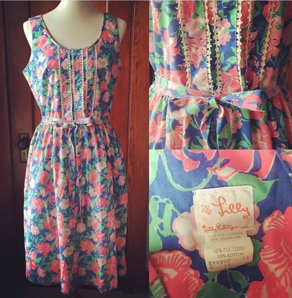 60's/70's Lilly Pulitzer Dress