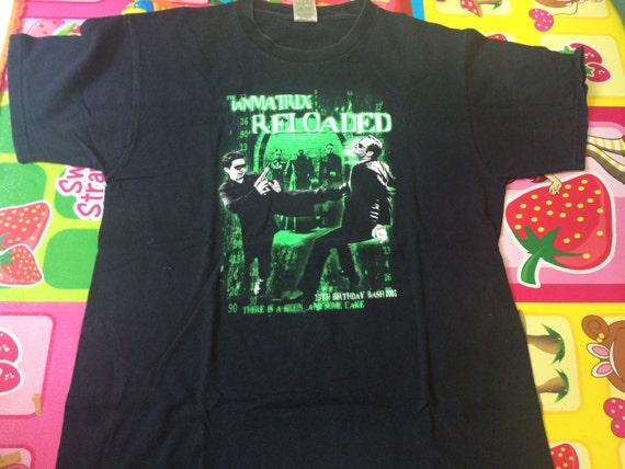 Vintage 90s The Matrix Reload Movies Keanu Reeves