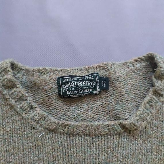 Vintage Polo Ralph Lauren Polo Sportman Knit Swea… - image 2