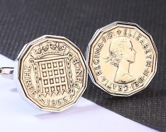 Born in 2007 Son Coin Cufflinks Cufflinks 14th Birthday Gift 20p British Coin 2007 Husband Brother Dad 14th Anniversary UK Gift