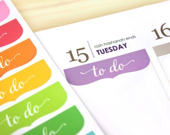 24 To Do Planner stickers for 2021 Erin Condren 7x9 vertical coiled, functional planner headers, assorted, neutral, eclp, to do planner