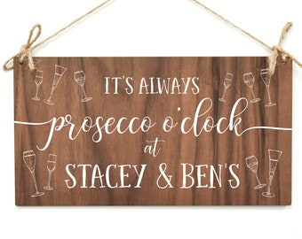 Prosecco Sign, Prosecco Gift, Prosecco Plaque, Prosecco Gift, Prosecco Present, Friend Gift, Prosecco lover, Gin, Gifts for Her, Wooden AM63