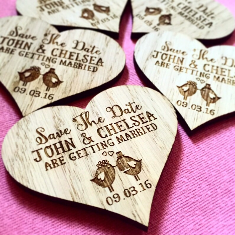 unique save the date rustic 1STD wooden save the date save the date save the dates Magnet save the date heart,save our date
