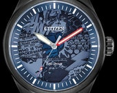 Marvel Universe Watch, Citizen Disney Watch, Super Hero Watch, Avengers Stainless Steel Watch with Blue Strap Dial, Mens Collectable Watch