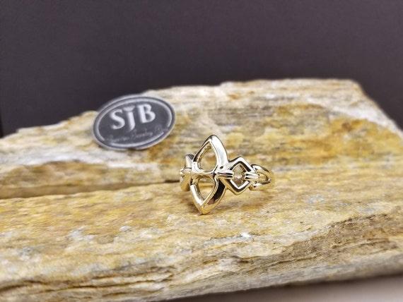 Gold Rings, 14K Gold Rings, 14k Yellow Gold Rings,