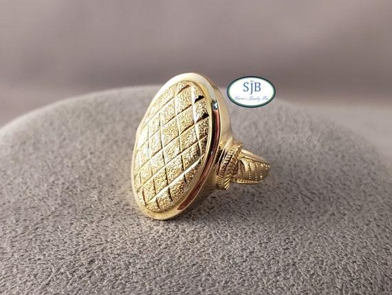 Gold Rings, Vintage Rings, 14k Yellow Gold Rings,