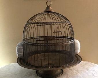 Antique bird feeder | Etsy