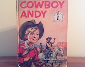 1959 Cowboy Andy By Edna Walker Chandler - I Can Read All By Myself Beginner Books - Vintage Children's Book - Dr Seuss Book
