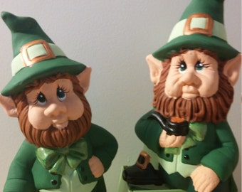 leprechauns - set of two