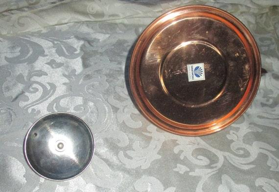 Vintage Daewoo Copper Tone Kettle W