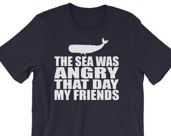 The Sea Was Angry Etsy