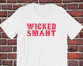 wicked smaht etsy