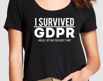 I Survived GDPR