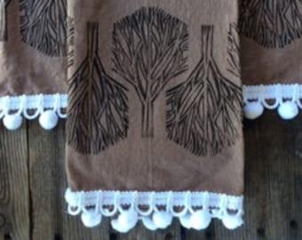 Fall Trees Tea Towel