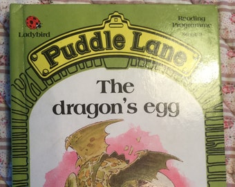 Puddle Lane Ladybird book - The Dragon's Egg