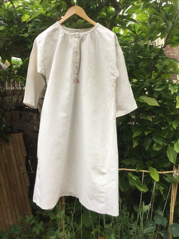 Vintage French Smock - Embroidered MM