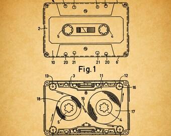 vintage retro punk stil band rekorder radio ohrringe verschiedenen farben