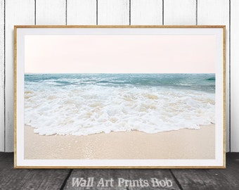 Ocean Print, Ocean Wall Art, Beach Decor, Coastal Decor, Printable Beach Art, Ocean Water, Coastal Wall Art, Beach Photography, Beach Art