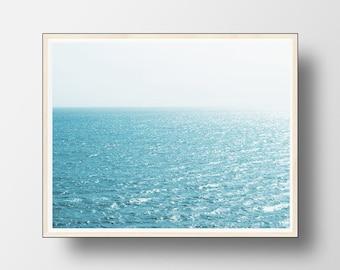 Ocean Print, Ocean Wall Art, Ocean Water Photo, Waves Print, Water Print, Ocean Photography, Ocean Art, Ocean Decor, Ocean Waves Print