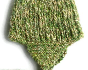 28af0a3b35a Wool hat with ear flaps