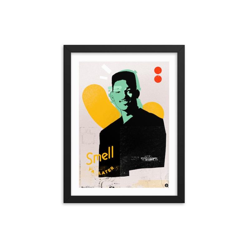 The Fresh Prince / 12x16 Framed Print / 90s / Retro TV / image 0