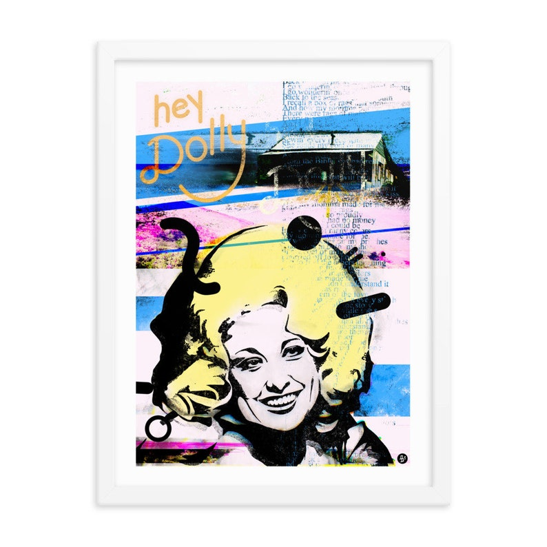 Dolly Parton / Framed Print / 12 x 16 / Country Music image 0