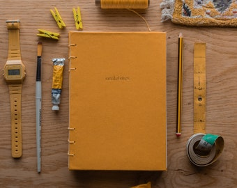 Handmade & Personalised Sketch Book for Watercolour and Pencil Drawings