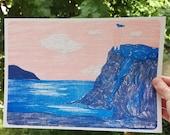 La falaise / riso A4