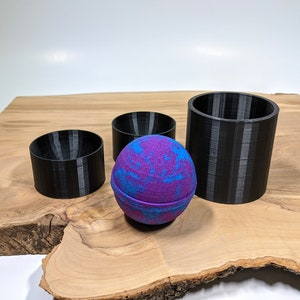 DIY Witch Ball Round Mold Candle Mold Earth Day Sphere Bath Bomb Chocolate Jello Circle Soap Bath Fizzer 3D Home Decor Cement