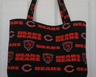 a7396e03e40 NFL Chicago Bears quilted tote bag