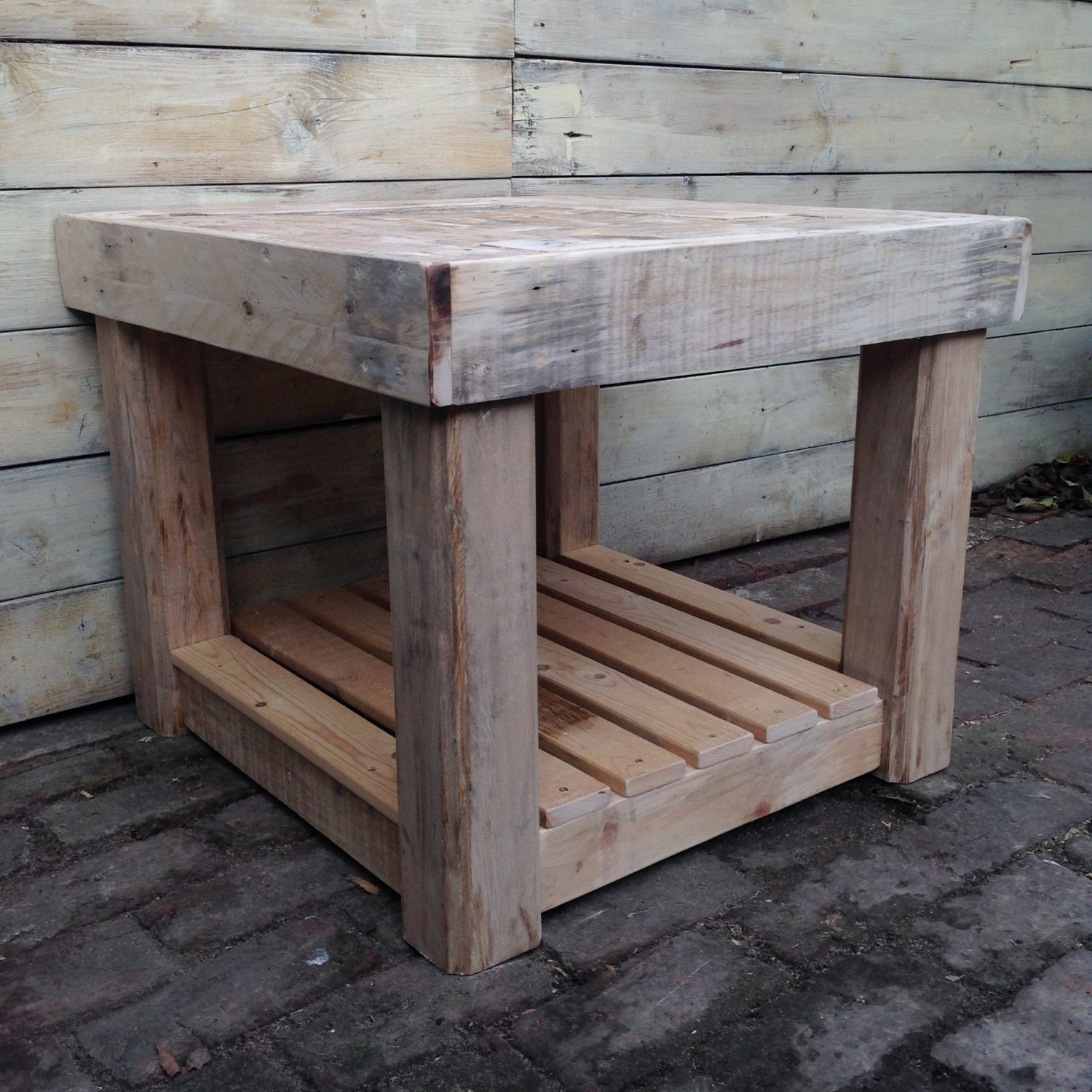 Rustic Coffee Table/ Shabby Chic Coffee Table/ End Table